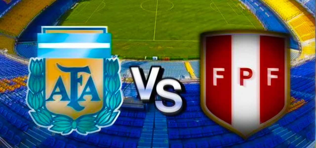 Partido Argentina vs Peru